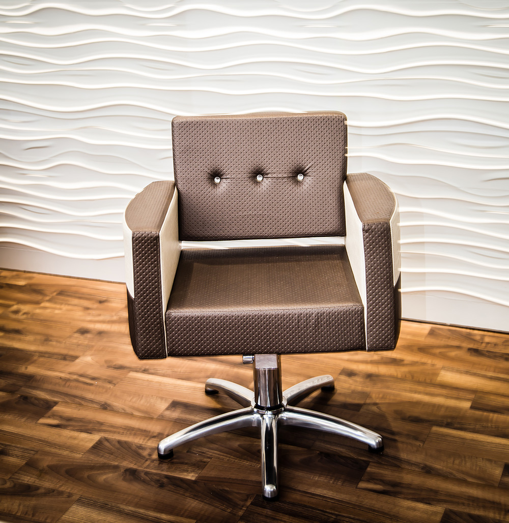 Stylish and comfortable client chair