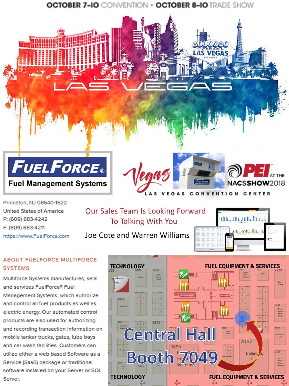 2018 NACS PEI FuelForce Fuel Management Solutions Booth 7049.jpg