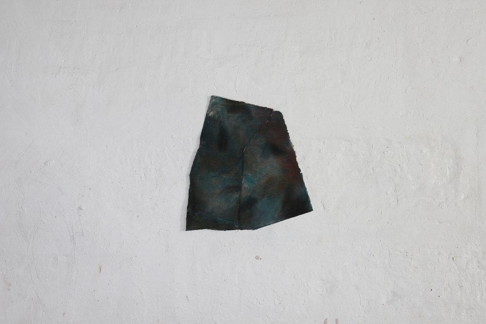 Like Barakah, pigment, paper, 38 x 42 cm, 2016