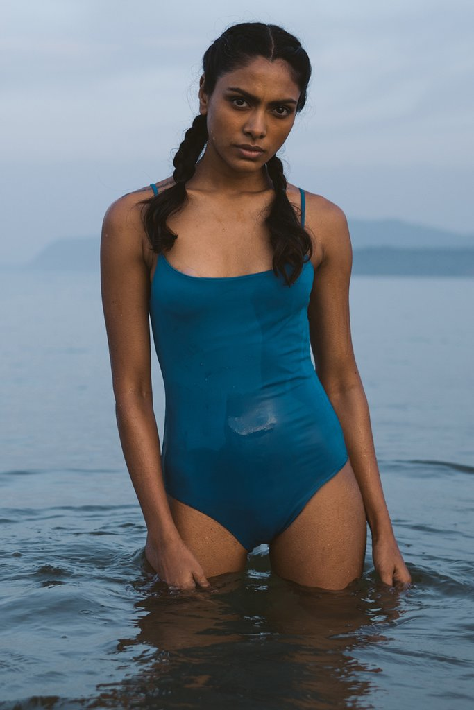 First swim line from  Summer House  is made out of Econyl, a hero fabric from Italy, that is not only made responsibly but actually helps clean up the oceans. Made from fishing nets and gear abandoned in oceans, this waste is fished out, polymerized and converted to regenerated nylon yarn that is then made into fabric that is beautiful and strong. Available in 3 styles and 3 color ways, swimwear has never looked and felt this good.   ECO-FRIENDLY    $-$$, India    Sizes: XS-L