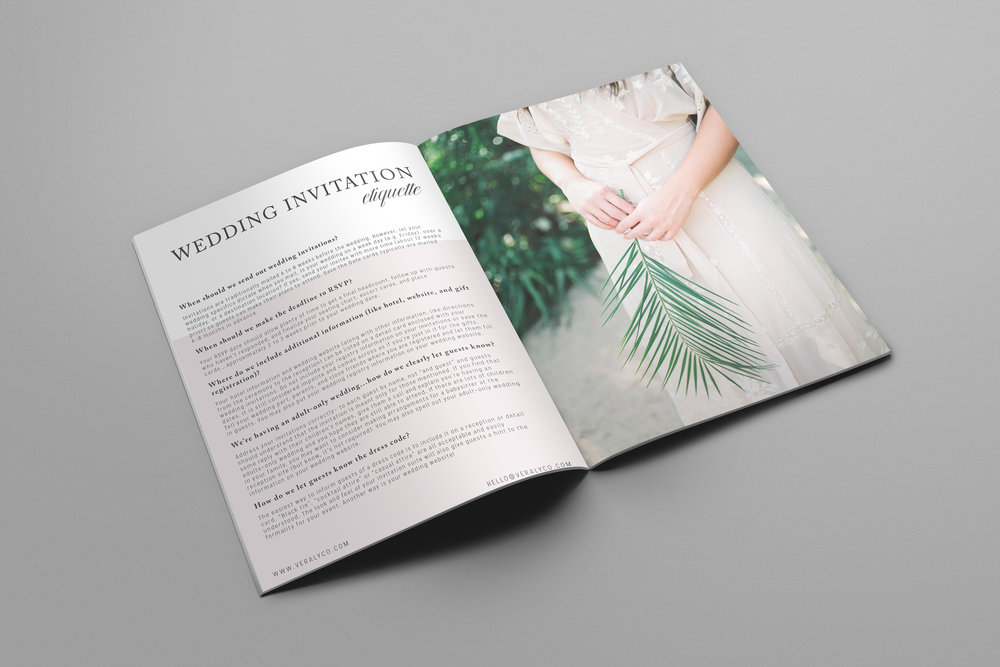 9 pages of beautiful images and great wedding content- Free! Yayyy!