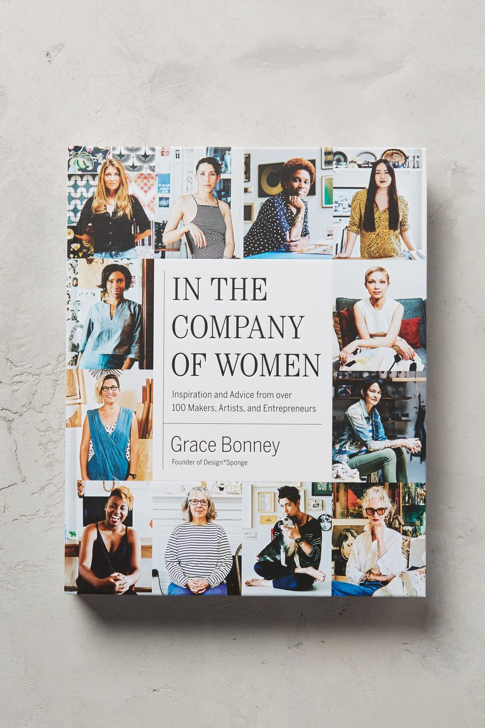 In The Company Of Women - Across the globe, women are embracing the entrepreneurial spirit and starting their own creative businesses. Featuring interviews and portraits of 100 creative leaders, Mom will love this dose of regeneration is pursuit of her goals, or maybe find inspiration to start her own fempire. $35.00