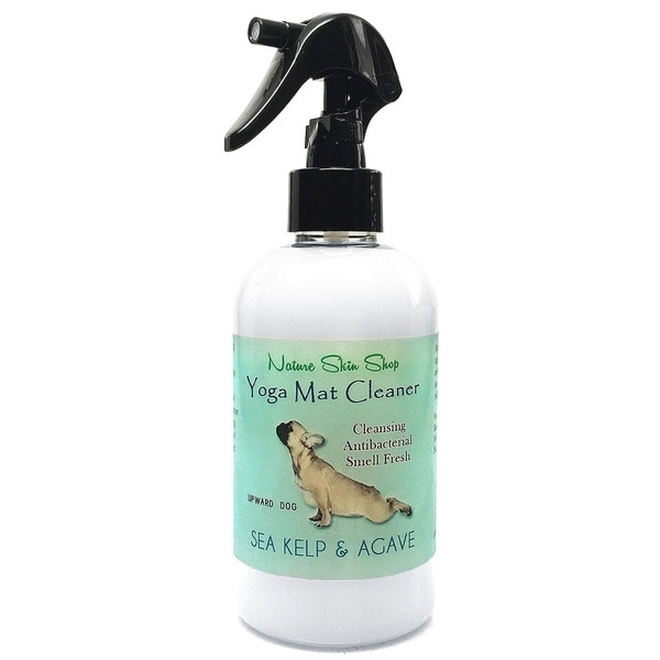 Sea Kelp & Guava Yoga Mat Cleaner - Mom can keep her mat fresh and clean with this naturally antibacterial and antiviral fresh scent yoga mat spray. Scented with a unique blend of agave, sea kelp, ocean breeze, citrus zests, sparkling bergamot, dewy clyclamen, and soothing sandalwood. Price: $18.49