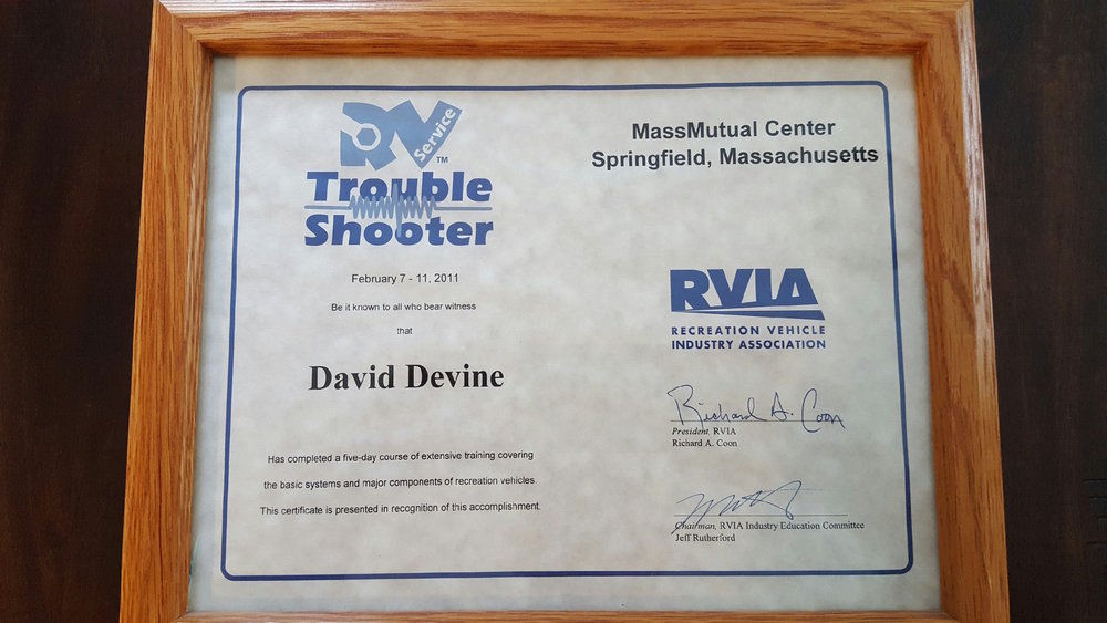 RVIA Trouble Shooting Clinic