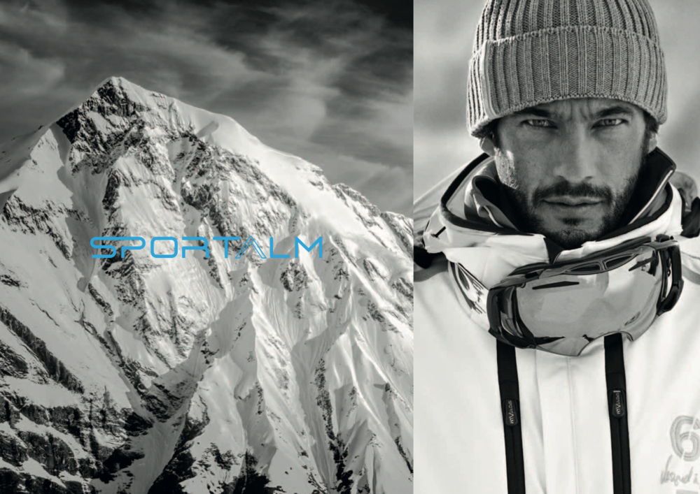 SPORTALM SKI MEN CAMPAIGN People shot by Laurens Grigoleit, outdoor/action shot by Christoph Oberschneider