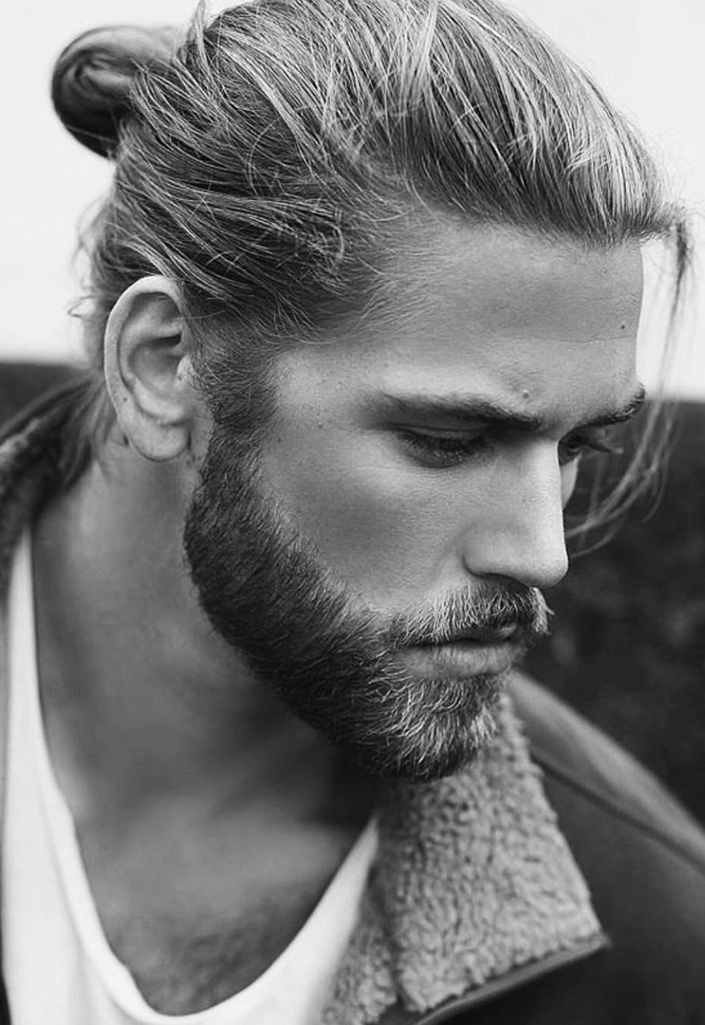 Viking - Man bun...