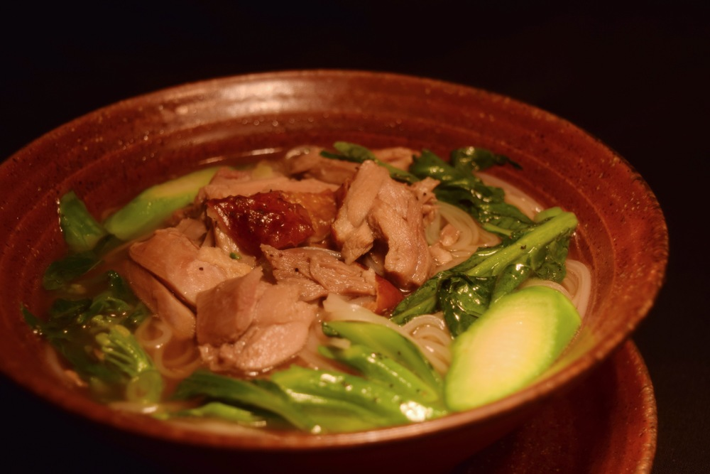 N008 Roasted Duck Noodle Soup