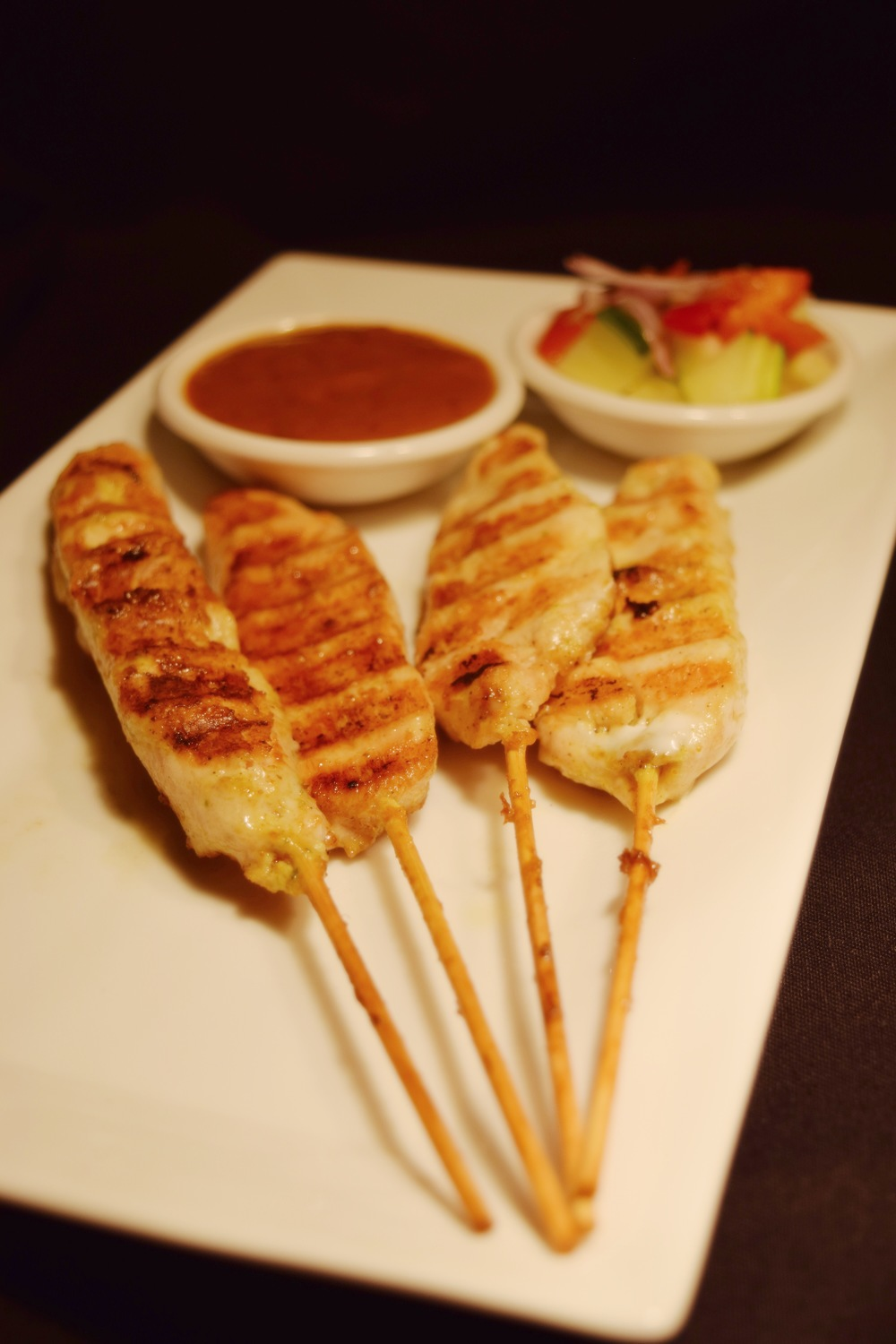 A001 Chicken Satay