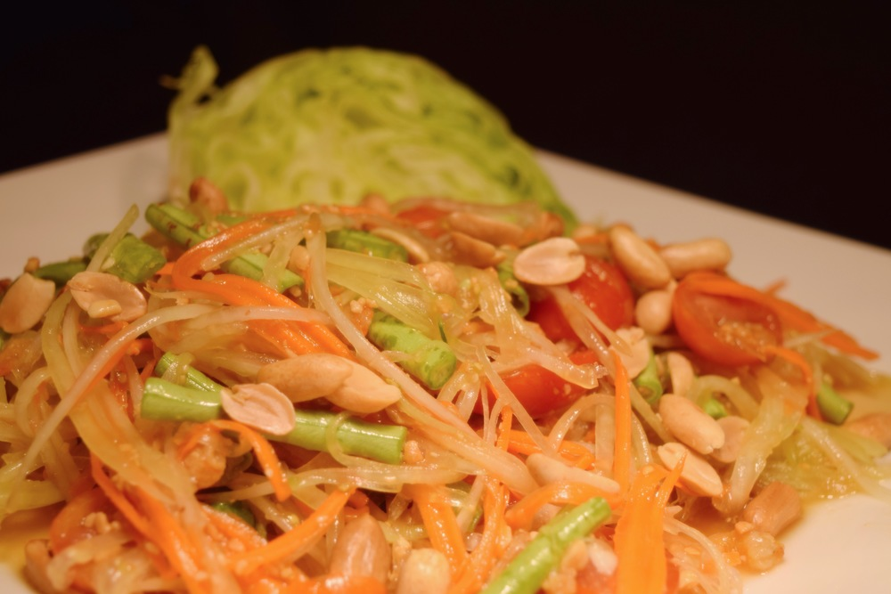 SA02 Papaya Salad (Central Style)