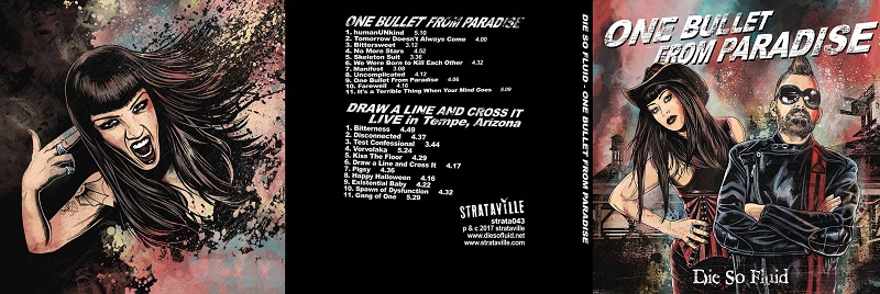 'One Bullet From Paradise' album artwork