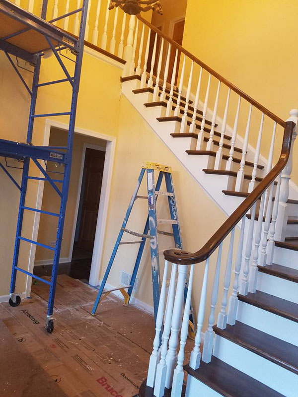 Painting of Staircase 1.3