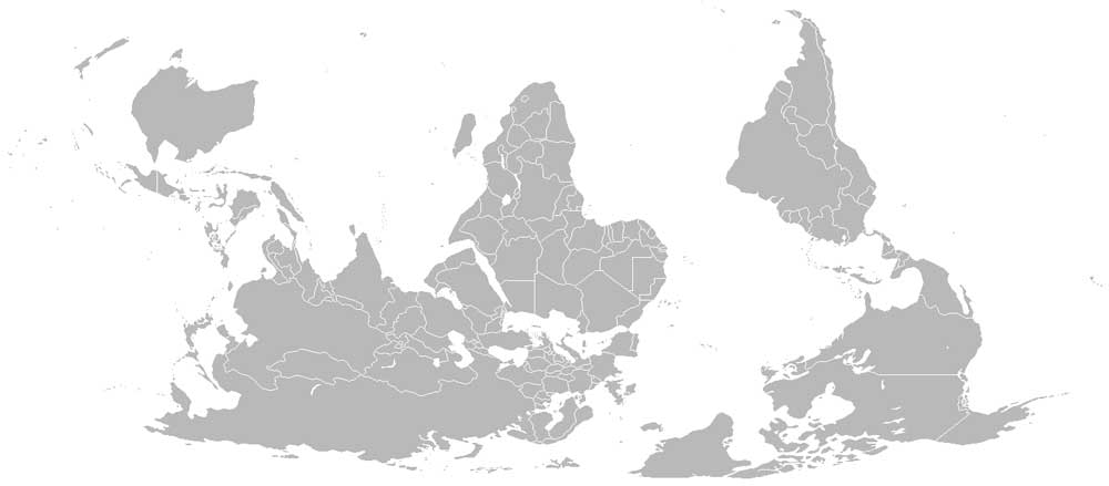 By CaseyPenk, Vardion - http://commons.wikimedia.org/wiki/Image:Blank-map-world-reversed.png, Public Domain, https://commons.wikimedia.org/w/index.php?curid=31996153