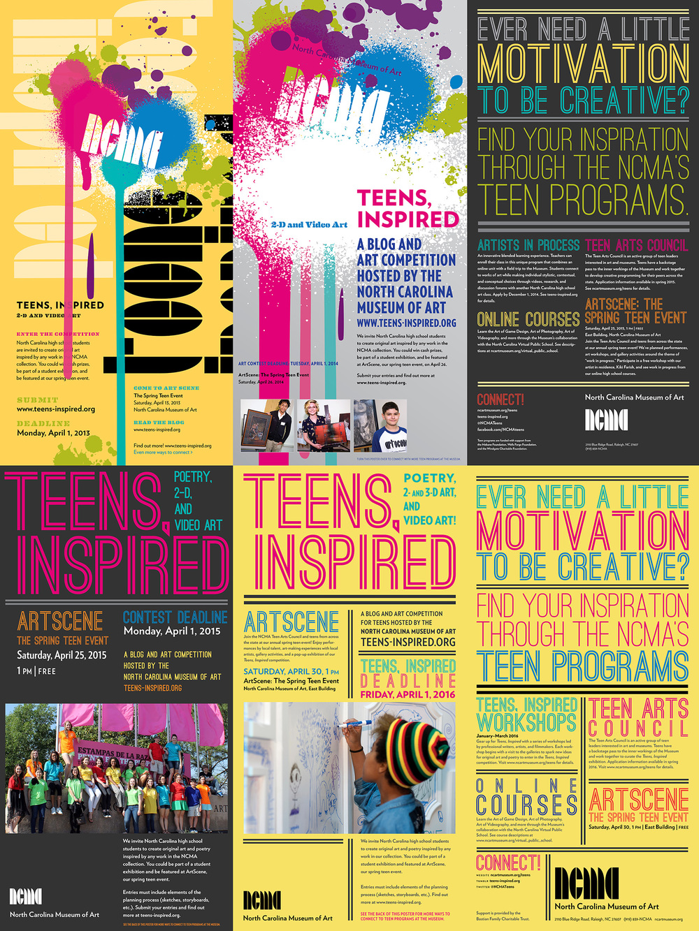 Teens, Inspired  poster series