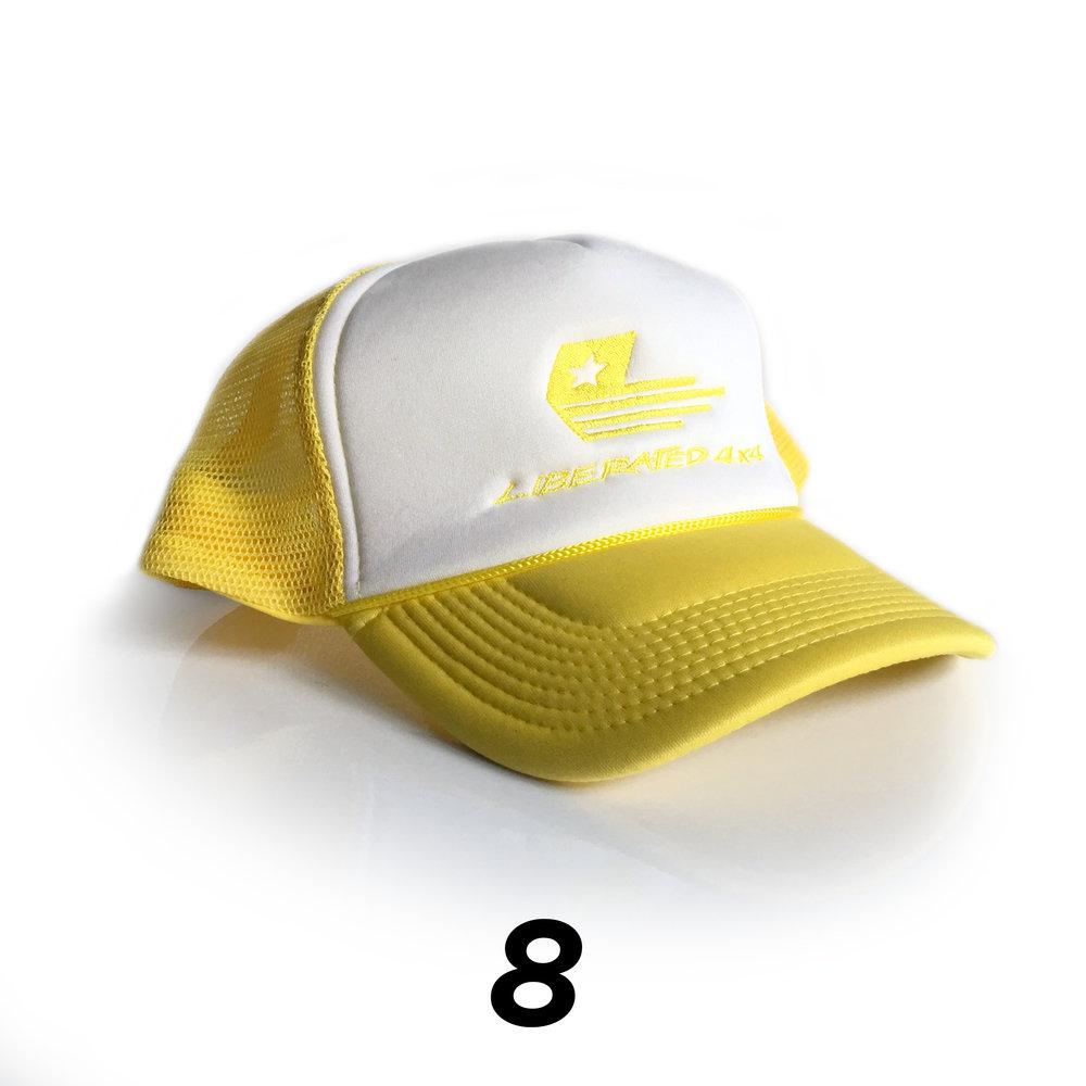 Yellow / White