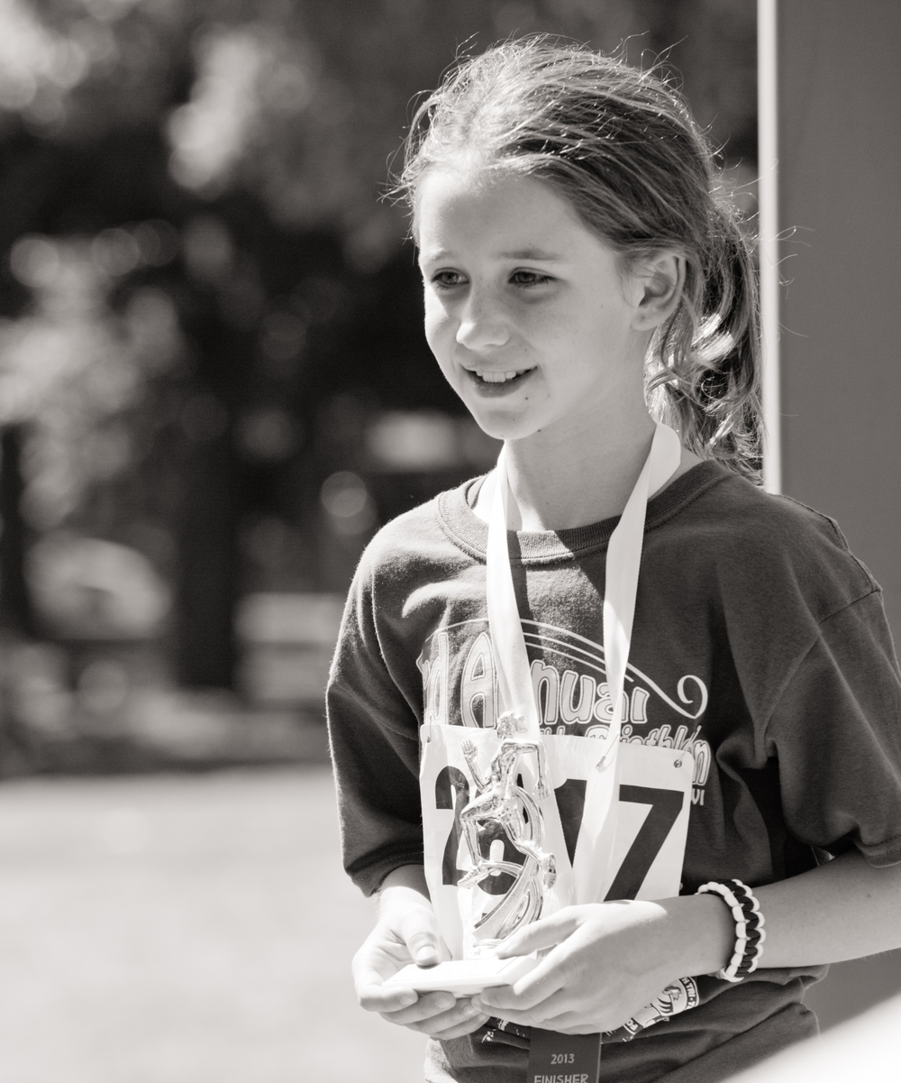 Participant in Tri 4 Schools' triathlons. Learn more at  http://www.tri4schools.org/