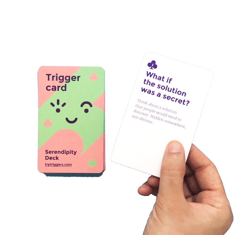 Best method for brainstorming tool with Triggers cards