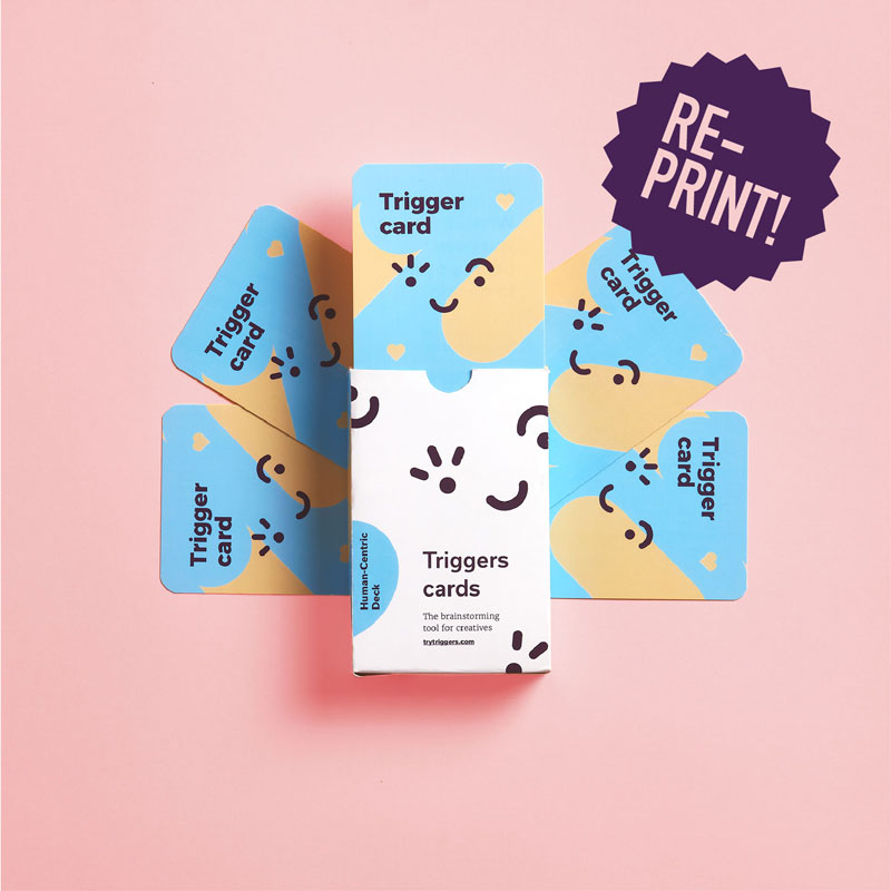 User-Centric Deck from Triggers cards. Ideation method for creative teams