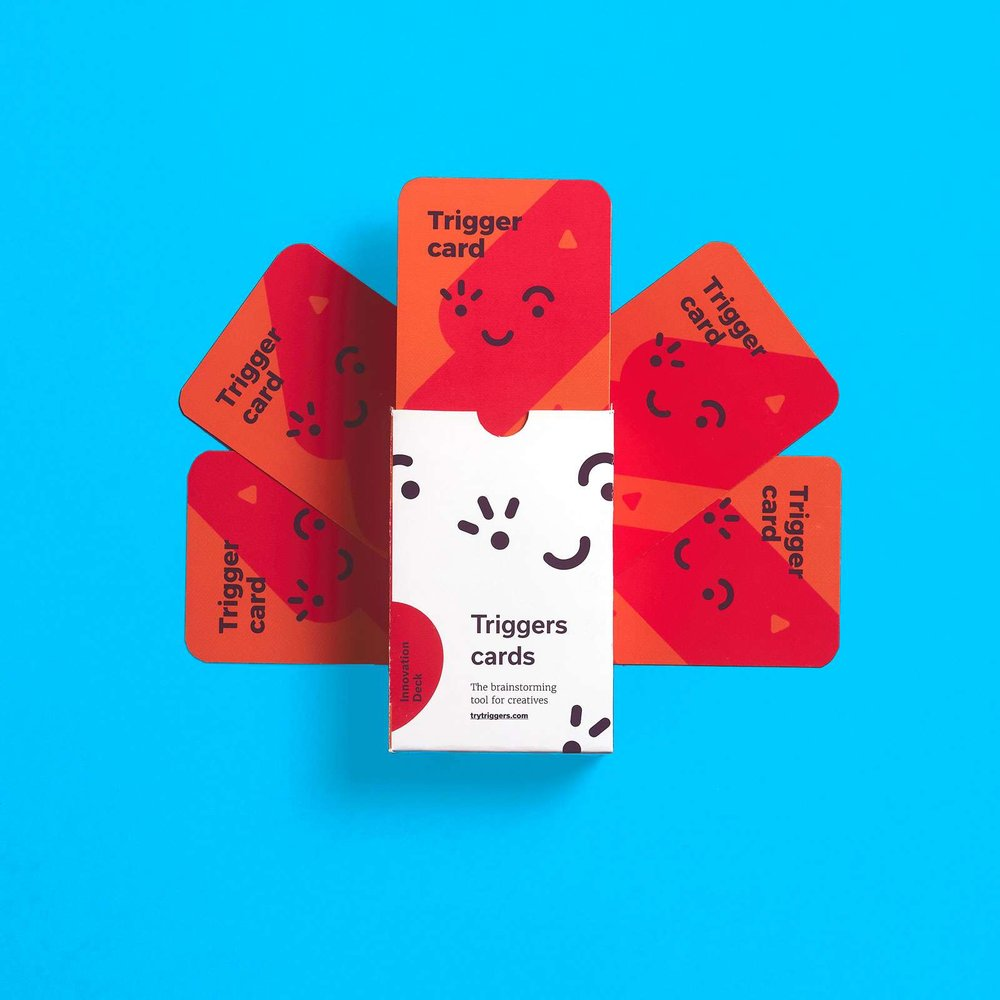 Innovation Deck - The deck for forward-thinking ideas.Use it to create edgy ideas, new products/services, campaigns, and projects focused on Millennials.