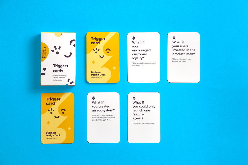 Our Triggers Business Design Deck