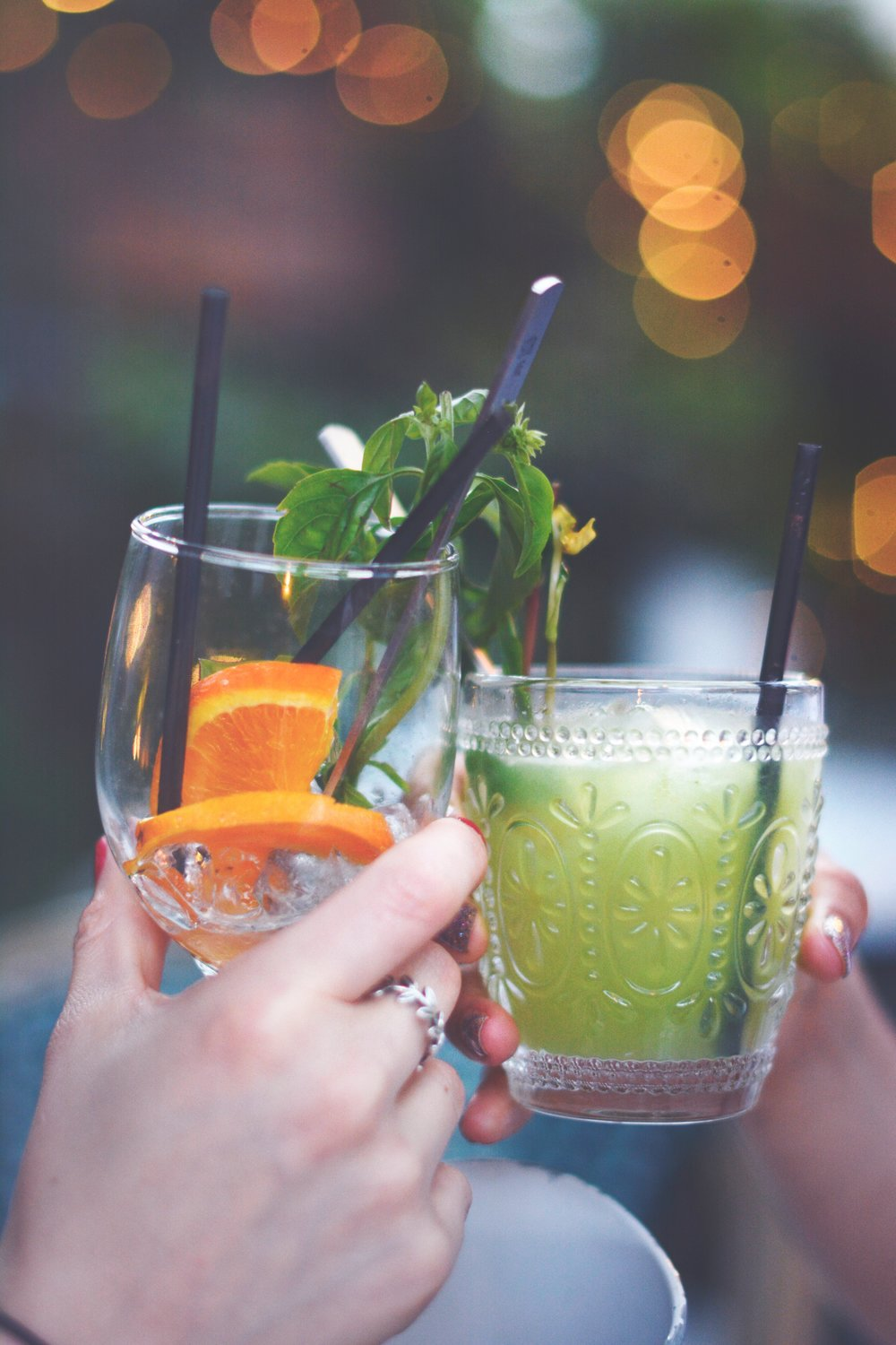 7. Skip happy hour - Too much alcohol can be hydrating and damaging to the skin. Keep it to less than one drink a day.
