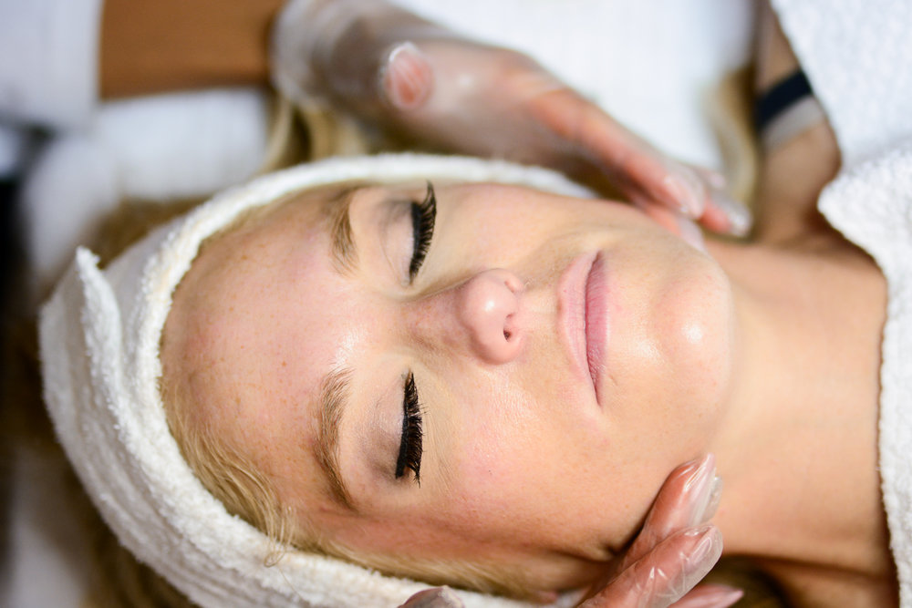 Get monthly facials - Get monthly facials - this will help professionally exfoliate your skin and combat any bacteria that lays underneath the dermis. In addition, this will also restore the moisture back into your skin.Book your facial at the Prairie Bliss Laser Clinic and Spa today!