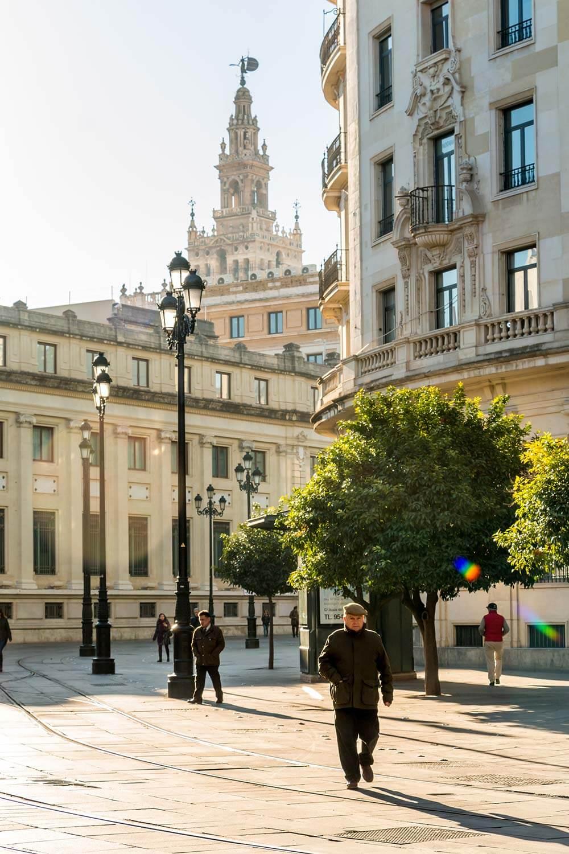 Morning Light in Seville