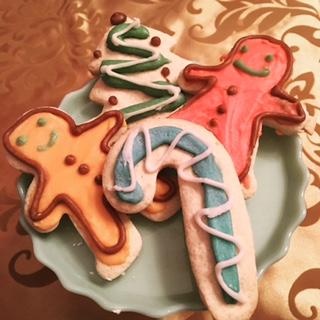 CHRISTMAS CUT SUGAR COOKIES