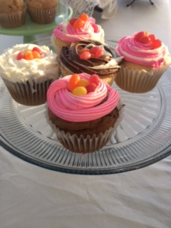 JELLY BEAN CUPCAKES