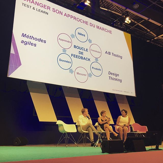 @marie_vorgan on stage @vivatech #transfodigitale