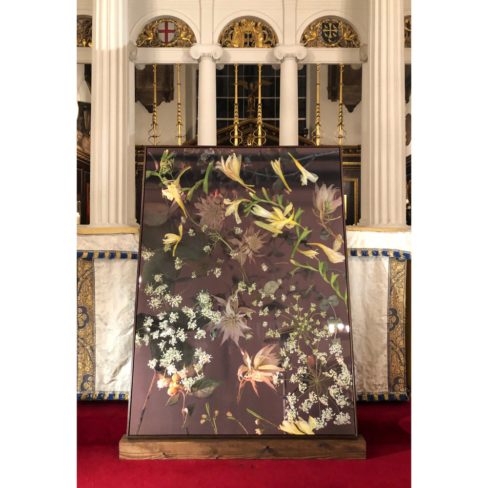 'Ophelia' , commissioned piece for an evening of Russian Culture and Society at Grosvenor Chapel, London 2018