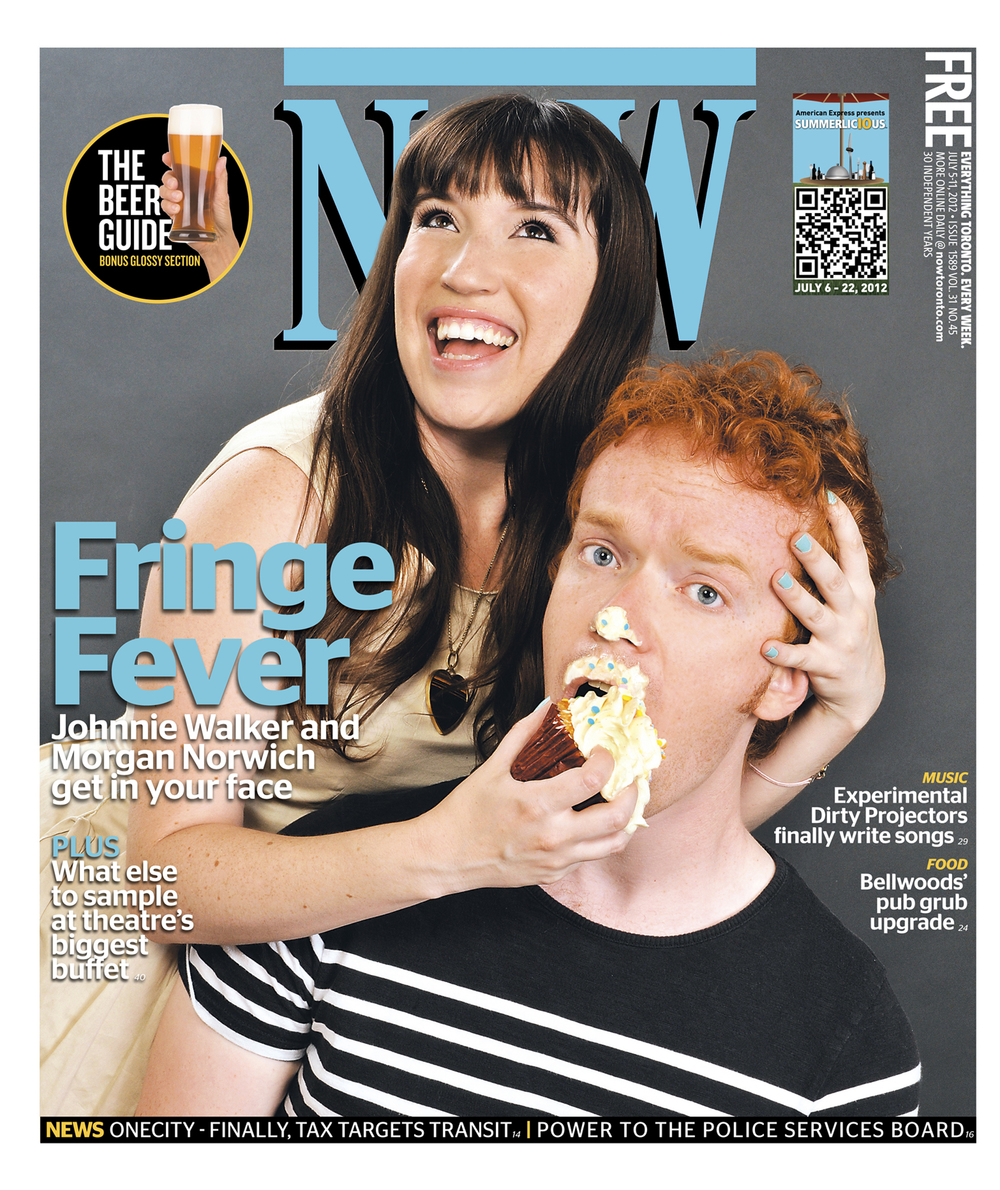 NOW Magazine cover story