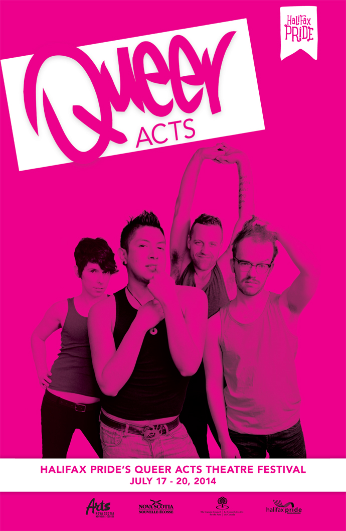 Queer Acts Theatre Festival poster