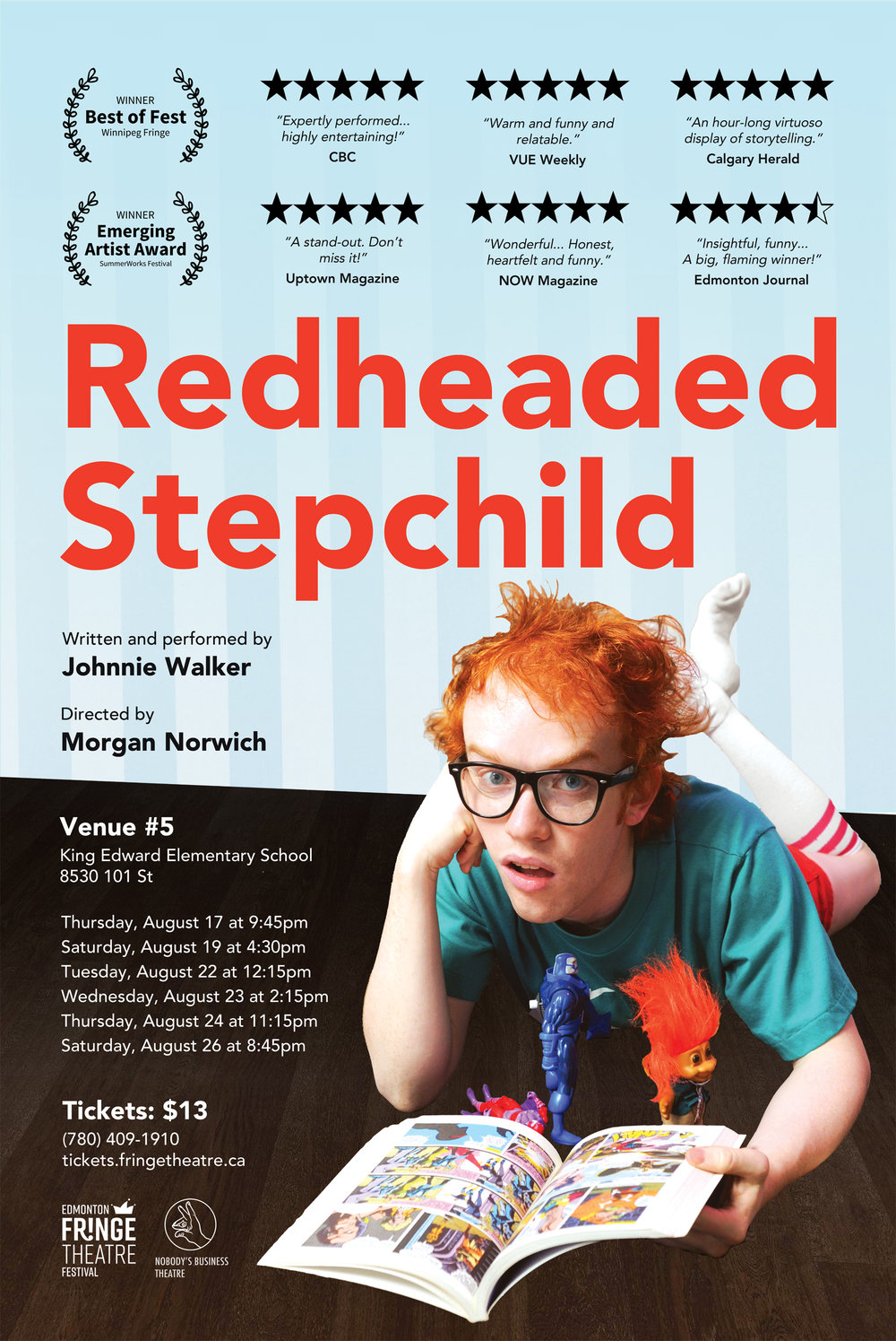 Redheaded Stepchild poster, 2017