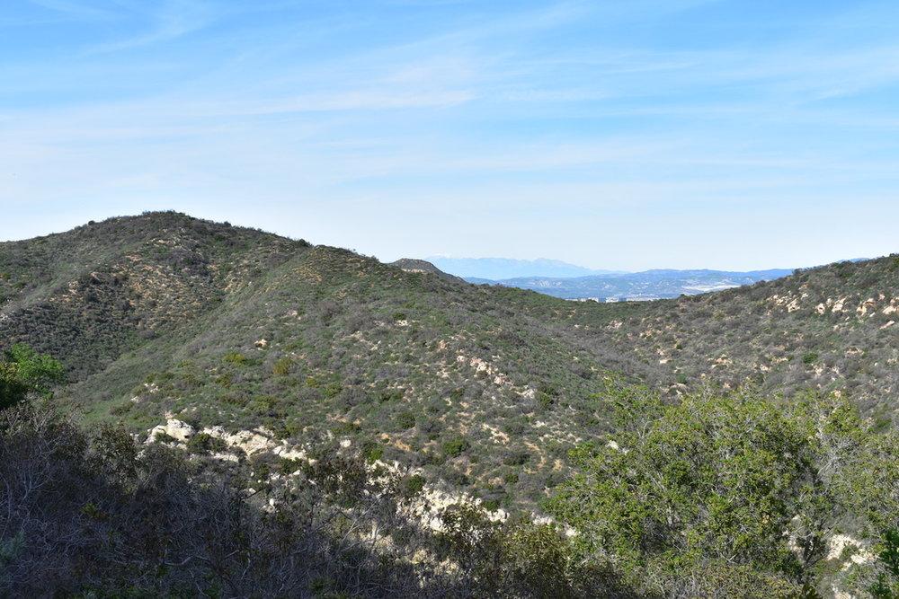 southern California coastal mountains