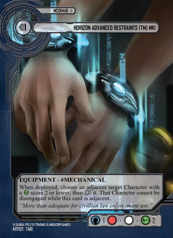Horizon Advance Restraints