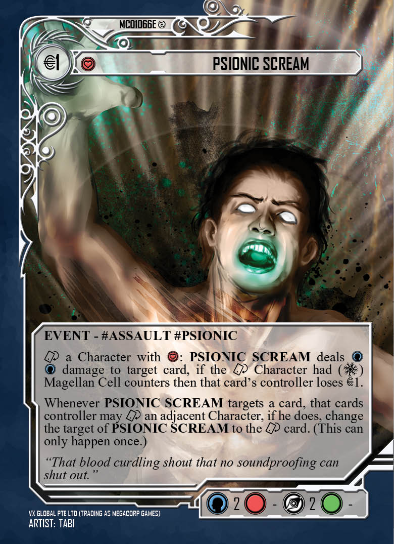 Psionic Scream