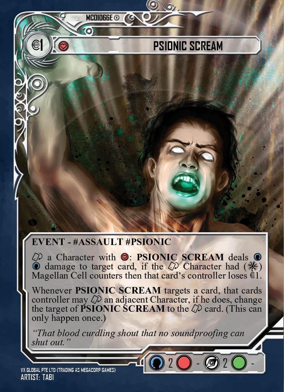 Psionic Scream