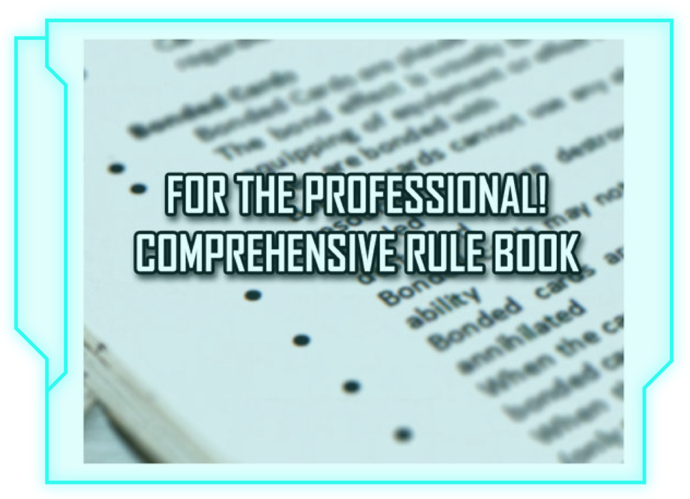 BE A PRO: COMPREHENSIVE RULE BOOK