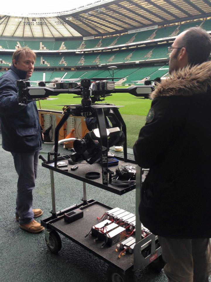 Twickenham Aerial Footage