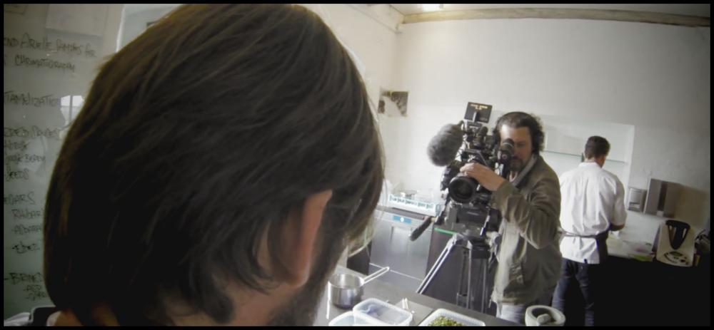 Filming René Redzepi