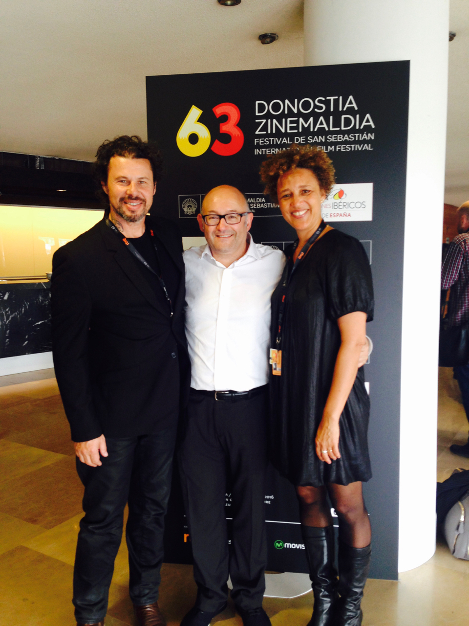 With José Luis Rebordinos Director of San Sebastian film festival