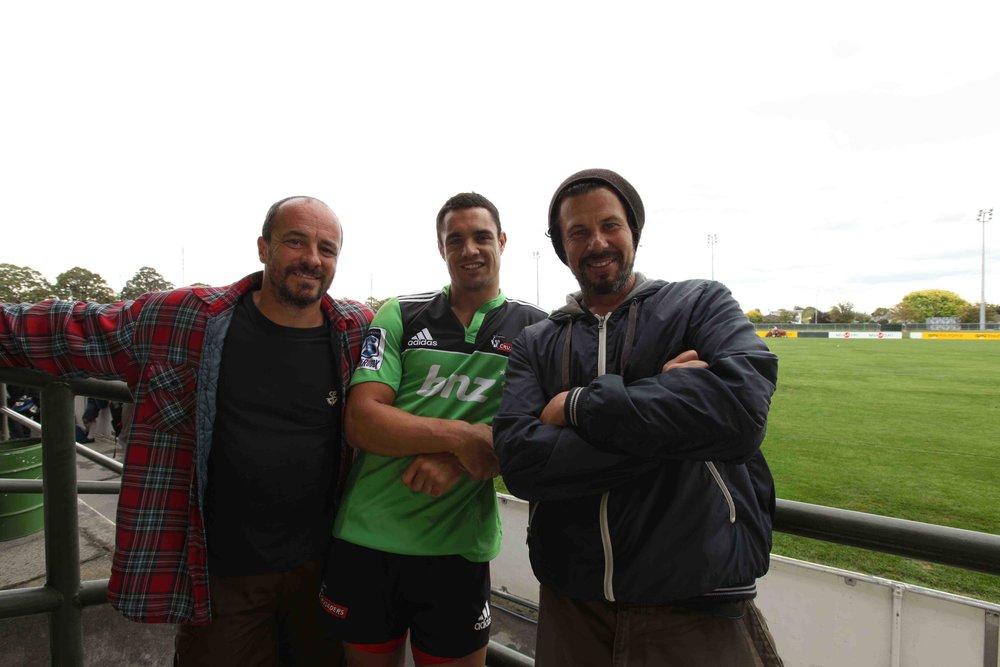 Gérard Bonnet, Daniel Carter et moi