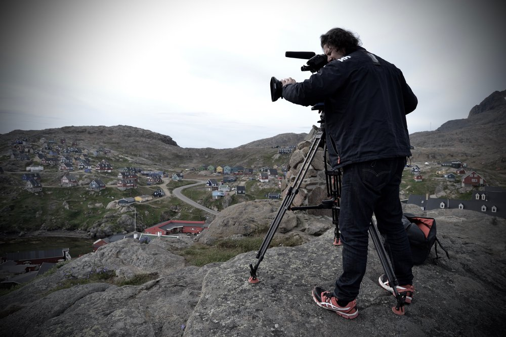 Filming in Greenland 2016