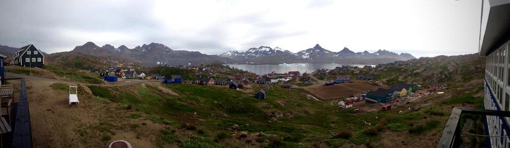 Wide shot Greenland