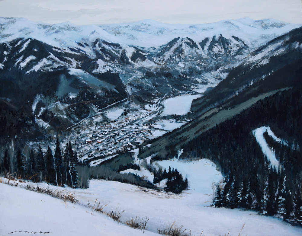 """A Cold Telluride Morning"""