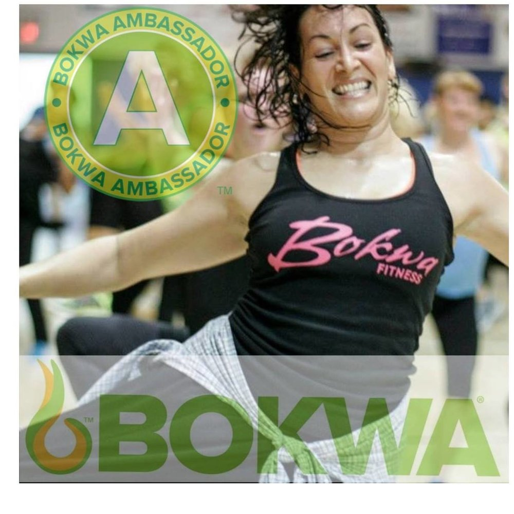 Christine Johnson is a Bokwa Ambassador and group fitness instructor.