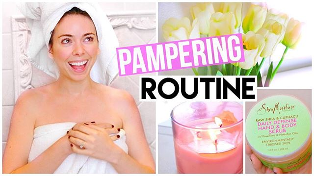 """New Video Alert! ✨ I just uploaded """"My Pamper Routine! Spa Night 2016!"""" On my channel! The link is in my bio! 🎉🎉🎉 I worked really hard on this editing and I hope you like it!:)"""
