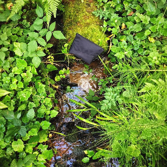Don't leave menstrual waste behind. Pack it in, pack it out with your Go With Your Flow Pack! #leavenotrace