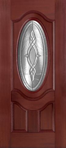 Plastpro Mahogany Series Brentwood Door & Plastpro Mahogany Series Brentwood Door u2014 The Moulding u0026 Door Shop