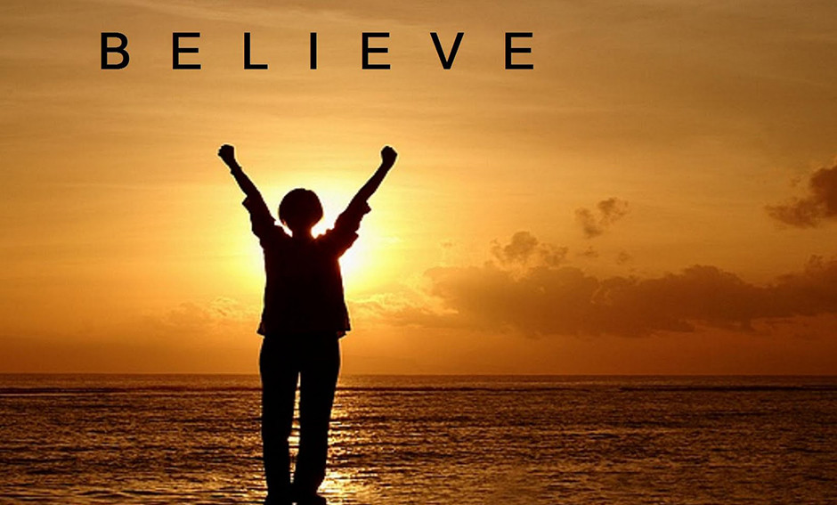 Believe and be free ocean beach sunset evening christian life church in Berlin and Vernon CT Sundays Wednesdays Thursdays Fridays Clouds horizon Bible study, Assemblies of God, Pentecostal, worship, young adult, kids ministry